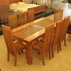 Wooden Dining Table Set in Malappuram, Kerala   Wooden ...