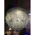 Traditional Classic Crystal Chandelier, Shape: Round