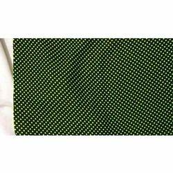 Green Rimjhim Fabric