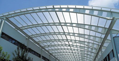 Frp Transparent Roofing Sheets At Rs 40 Square Feet Frp