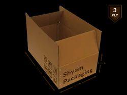 Corrugated Box - 3 Ply (Single Wall)