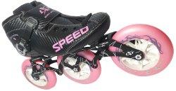 Pink Inline Speed Skates