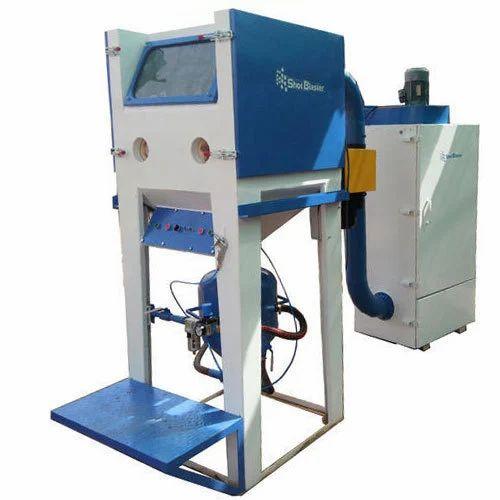 Shot Blaster Mild Steel Pressure Blasting Cabinet