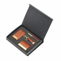 Power Bank, Card Holder, Key Chain & Metal Pen Exclusive Gift Set