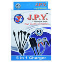 Jpy Black 5 In 1 Dc Charger