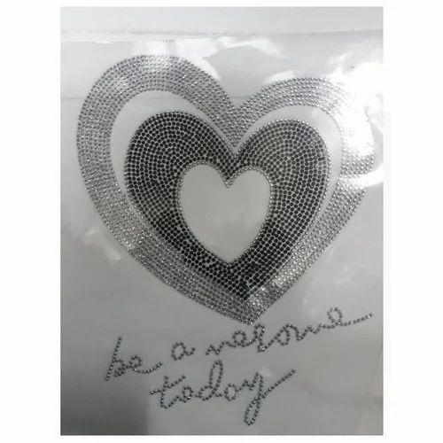 watch 4f578 41ba1 Hotfix T Shirt Heart Shape Stickers