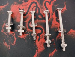 Ms Nikkel Cotted Carriage Bolt
