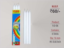 Plain Long Candles 9.0-06