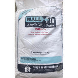 Wall Fit Acrylic Wall Putty (Pack of 50)
