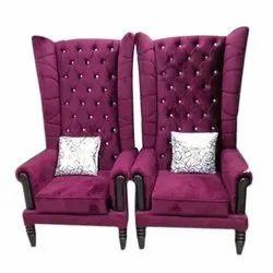 Modern Purple Color Sofa Chair Set