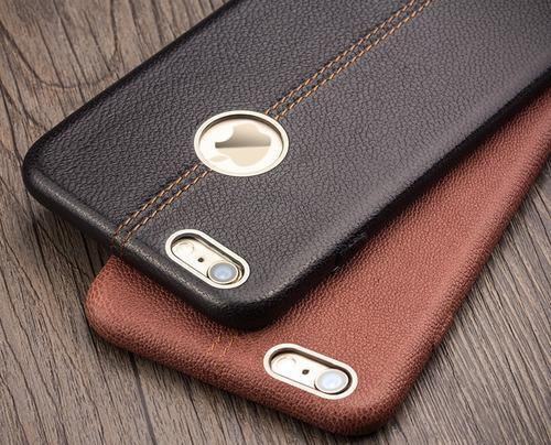 size 40 37075 dffec Iphone 6s Plus Leather Back Cover