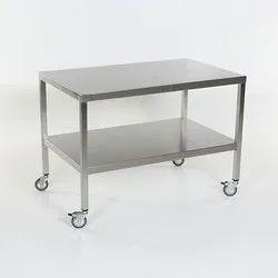 Stainless Steel Rectangular Restaurant Work Table, For Commercial
