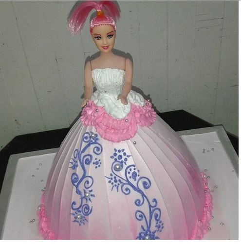 Cakes For Girls Princess Cake from Hyderabad