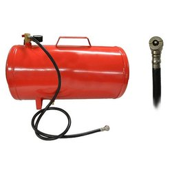 Mild Steel Red Air Compressor Tank