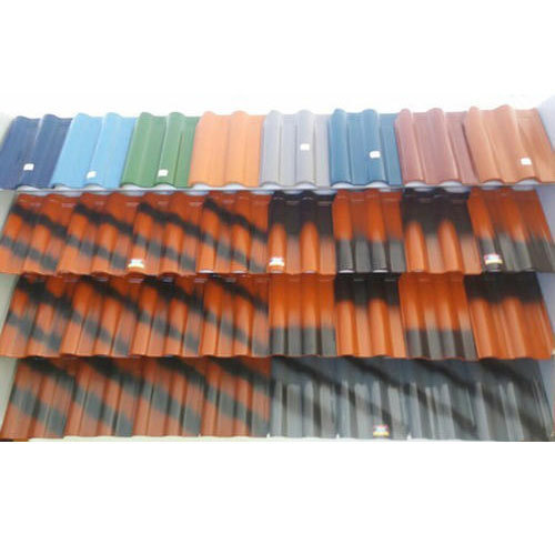 S Type Ceramic Roof Tile