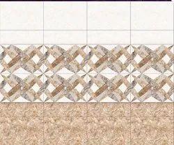 Digital Printed Bathroom Wall Tiles, Thickness: 5-10 mm