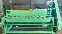 Mechanical Under-Crank Shearing Machine