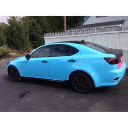 Light Blue Matte Car Wrap