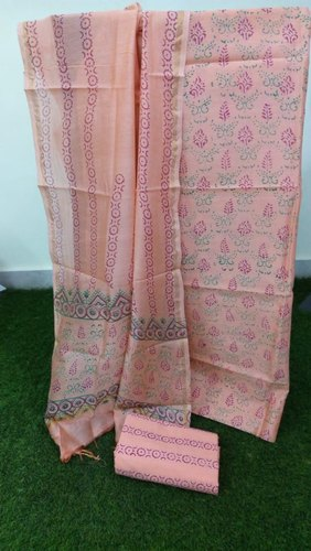 Cotton Aaditri Chanderi Salwar Suit Material