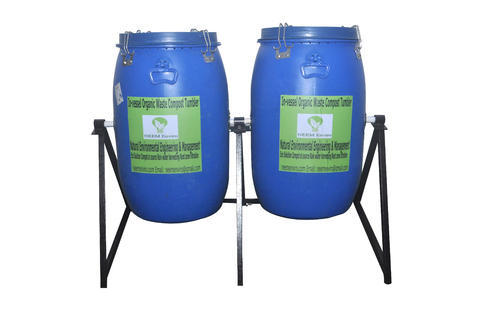 Color Coated 250 Liter Organic Waste Compost Tumbler Rs 11000 Unit Id 17808580812