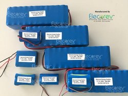 Elecorev 14.8V, 135Ah Solar Street Light Lithium Ion Battery