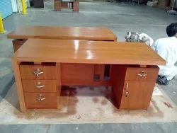 Office Table Carpentry Work