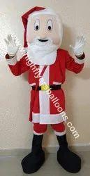 Santa Claus Fabric Mascot