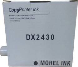 Morel DX2430 Copyprint Ink For Use In Gestetner Dublicator Color Black