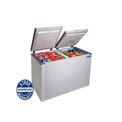 Blue star POWDER COATED SHEET Hard Top Chest Freezer, -17 To -23 Degree C, Automation Grade: Semi-automatic