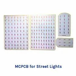 MCPCB For Street Light, Home Lighting, Power Consumption: 7w To 300w