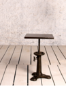 Iron Generator Industrial Cafe Crank Table