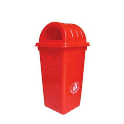 Dome Shaped Plastic Dustbin