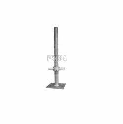 Formwork Scaffolding Base Jack With Jack Nut For Construction
