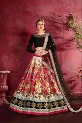 Pr Fashion Launched Digital Printed Designer Lehenga Choli
