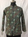 Ajrakh Ladies Printed Quilted Jackets