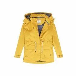 Polyester Full Sleeve Full Sleeves Waterproof Reversible Jacket, Hooded: Yes