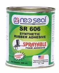 SR 606 Spray Synthetic Rubber Adhesive