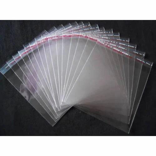 Transparent Bopp Bags