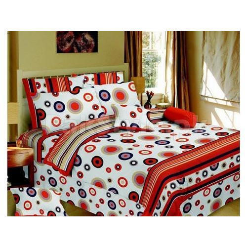 Printed Poly Cotton Bed Sheets