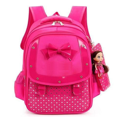 Value Box Pink school bag