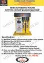 Semi Automatic Cotton Wick Making Machine