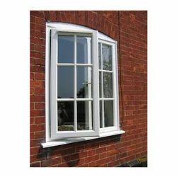 Modern UPVC Double Door Window