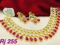 Kundan Choker Set Party Wear