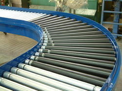 Mild Steel Roller Conveyor, Length: 1-10 feet