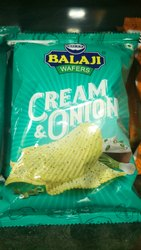 Cream And Onion Chips