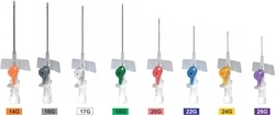 IV Cannula With Port & Wings ( Accu - Vein)