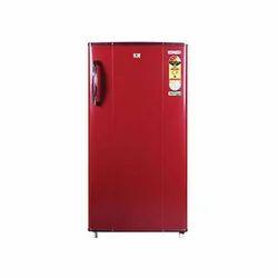 Red Plastic Videocon Refrigerator, Top Freezer ,Electricity