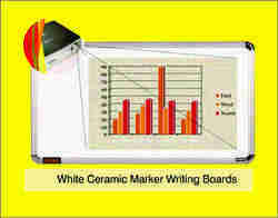 White Ceramic Marker Writing Boards