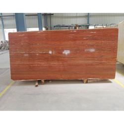 Red Travertine Marble