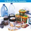 Multicolor In Mould Label For Cosmetics, Packaging Type: Plastic Packaging